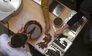 JournŽes du chocolat.