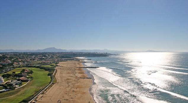 Anglet coast © Balloide-Photo