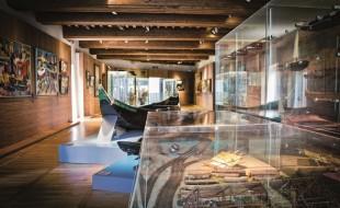 Chaloupe au Musée Basque
