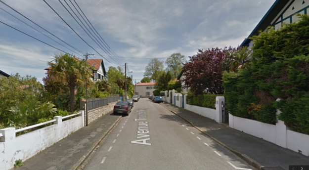 avenue-truc-de-moy-bayonne-google-maps