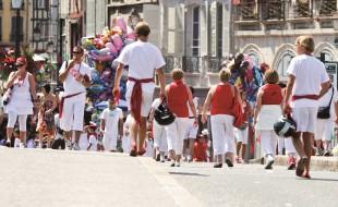 Fêtes Bayonne rue